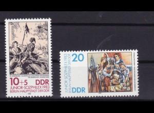 JUNIOR-SOZPHILEX Berlin 1983, **