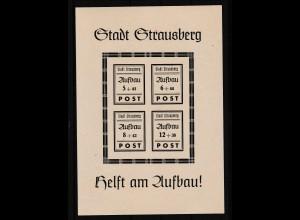 Strausberg Wiederaufbaublock, **