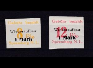 Spremberg Wiederaufbau (II) geschnitten, **