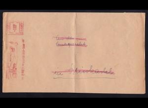1951/58 1 Brief und 2 Briefstücke mit AFS