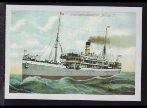 """Reichspostdampfer """"Admiral"""", Repro"""