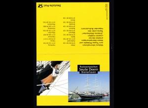 """Bremerhaven 2003 Klappkarte der Deutschen Post Postwertzeichen """"Seute Deern"""""""