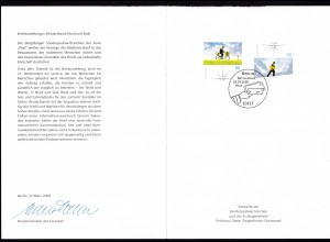 Briefzustellung in Deutschland (I) Ersttagsblatt