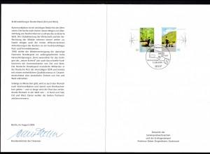 Briefzustellung in Deutschland (II) Ersttagsblatt