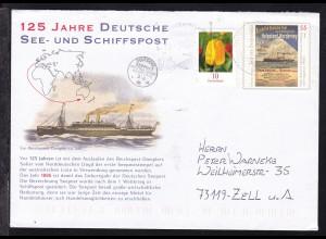 2011 Ganzsache 125 Jahre Deutsche See- und Schiffspost