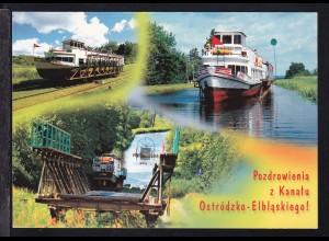 Polen Masuren Oberlandkanal