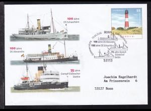 """Dampfschiff-Jubiläen 100 Jahre DS """"Alexandra"""" 100 Jahre DS """"Schaarhörn"""""""