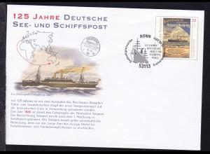 125 Jahre Deutsche See- und Schiffspost, ohne Anschrift