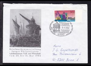 DÜSSELDORF 1 4000 Schiffahrtsmuseum im Schloßturm Landesmuseum Volk und