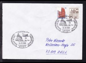 ESSEN 1 45127 1929 Dampfer Bremen-New York VOR 70 JAHREN 1. DEUTSCHER