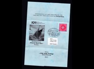 """STRAUBING 1 94315 Festakt 1900 20000 Hundert Jahre MK """"Admiral Graf Spee"""""""
