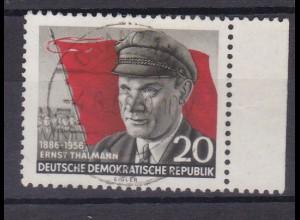 70. Geburtstag von Ernst Thälmann, Randstück