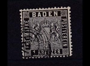 Wappen 1 Kr. mit Nummernstempel 129 (= Schönau)