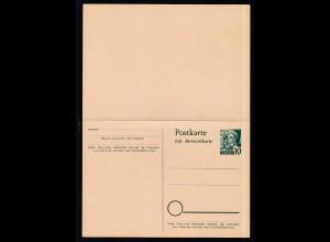 Baden Postkarte 10/10 Pfg.