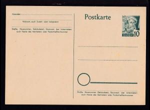 Baden Postkarte 10 Pfg.