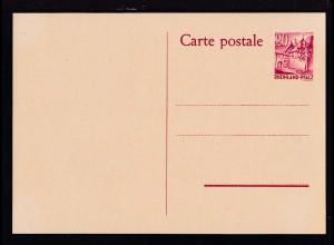 Rheinland-Pfalz Postkarte 20 Pfg.