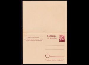 Rheinland-Pfalz Postkarte 8/8 Pfg.