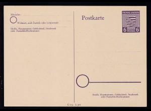Provinz Sachsen-Anhalt 6 Pfg.