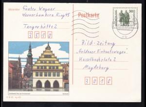 Bauten und Denkmäler 30 Pfg. Bild Greifswald ab Tangerhotte 23.8.90