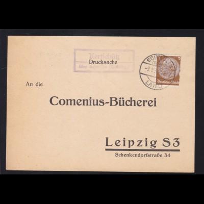 SCHMÖLLN (THÜRING.) LAND 9.8.34 + R2 Kertschütz über Schmölln (Thüring.)