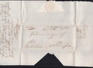 1825 Briefhülle